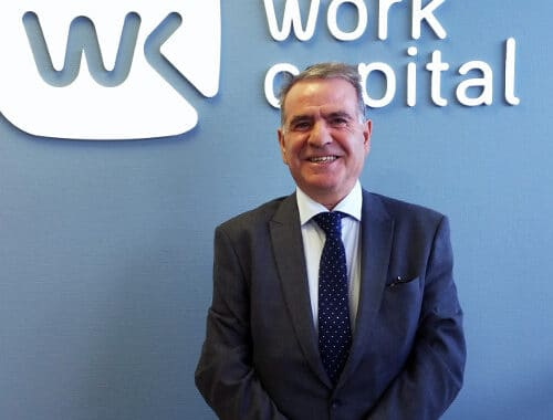 FEDERICO SALGADO Delegado Madrid en WorkCapital noticia